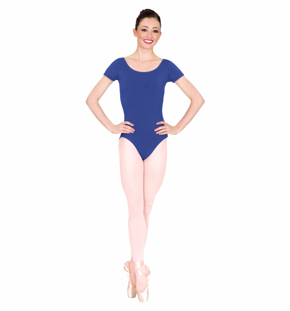 Black spandex dance unitard gymnastics and dancewear - Plus Size Womens Nylon Ballet Short Sleeve Leotard Dance Costumes Adult Gymnastics Dance Leotards Tops Spandex Dance Wear