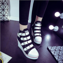 Cartoon Women Canvas Shoes Fashion Vulcanize 2018 Summer female Lace Up Casual Board Sneakers