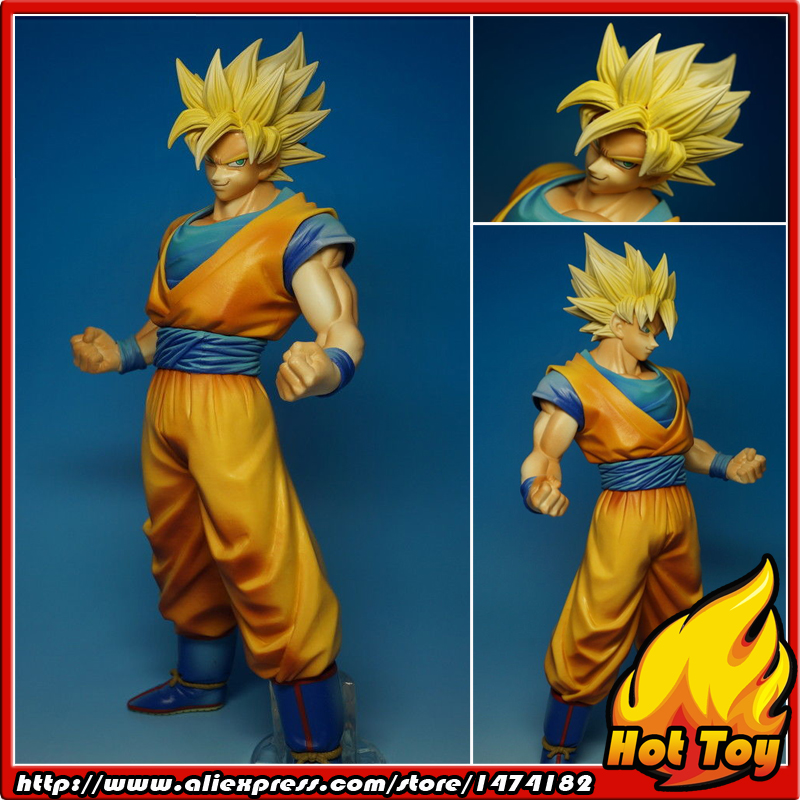 100% Original BANPRESTO Master Stars Piece (MSP) Figure - Son Gokou Super Saiyan from Dragon Ball Z anime dragon ball super saiyan 3 son gokou pvc action figure collectible model toy 18cm kt2841