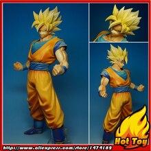 "BANPRESTO figura Original Master Stars Piece (MSP), 100%, Super Saiyan, de ""Dragon Ball Z"", Son Goku"
