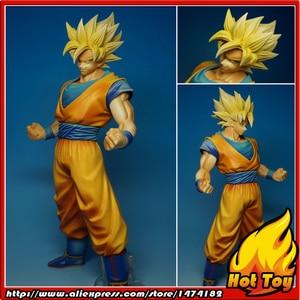 "Image 1 - BANPRESTO figura Original Master Stars Piece (MSP), 100%, Super Saiyan, de ""Dragon Ball Z"", Son Goku"