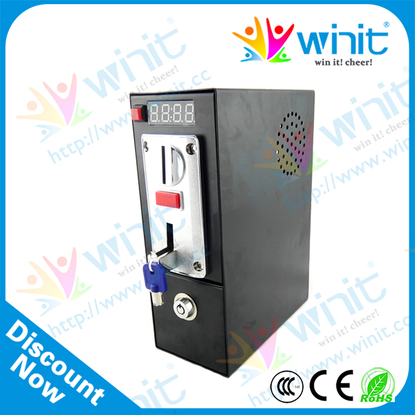 Coin acceptor with timer controller for washing machine small condoms vending machine with coins acceptor with 5 choices