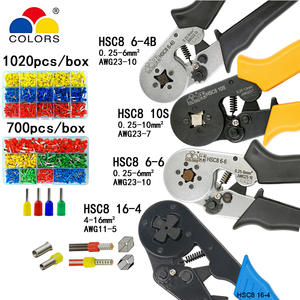 HSC8 10 S 0.25-10mm2 23-7AWG 6-4B/6-6 0.25-6mm2 16-4 tools sets
