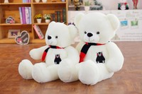 60cmplush cute white Teddy Bear Cloth Doll, Sleeping Pillow Multifunction Panda Doll Good quality holiday christmas lover gift