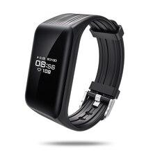 Лучшие 2018 Смарт Браслет K1 монитор сердечного ритма IP68 Водонепроницаемый gps спортивные Фитнес трекер Smartband спортивные часы ios android