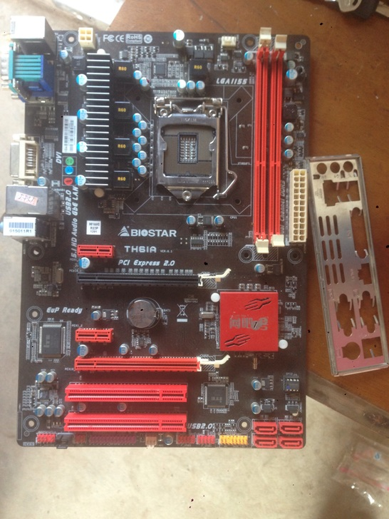 Free shipping 100% original motherboard for Biostar TH61A LGA 1155 DDR3 Motherboard Desktop Boards  цена и фото