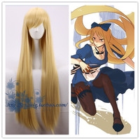 Axis Powers Hetalia APH Cosplay Belarus Nataliya Arlovskaya Blonde Long Straigt Synthetic Hair for Adult Anime Role Play