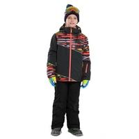 Winter New 2019 Boys Ski Set Winter Outdoor Warm Waterproof Ski Jackets Pants Children Clothing Kids Sport Ski Suits for Boys