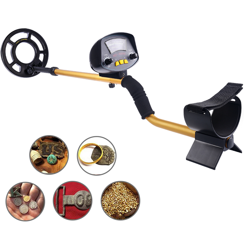 Metal Detctor MD3009ii Underground Gold Metal Detector High Sensitivity High Accuracy Factory professional deep search metal detector goldfinder underground gold high sensitivity and lcd display metal detector finder