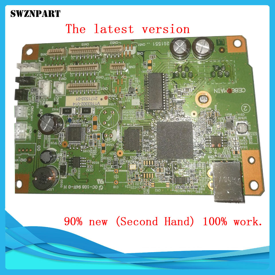 The latest version FORMATTER PCA ASSY Formatter Board logic Main Board MainBoard mother board for EPSON R330 330