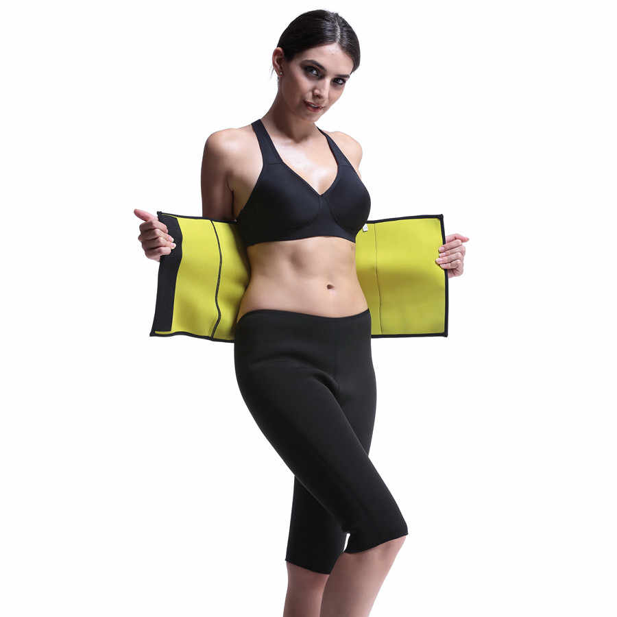 362d10774e Women Slimming Belts Hot Body Shapers Belt Neoprene Compression Corset  Fitness Belt Waist Trainer Shapewear Trimmer
