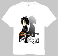 The Cure T Shirt Summer Short Sleeve Teenages White The Cure Logo Top Tees Shirt For