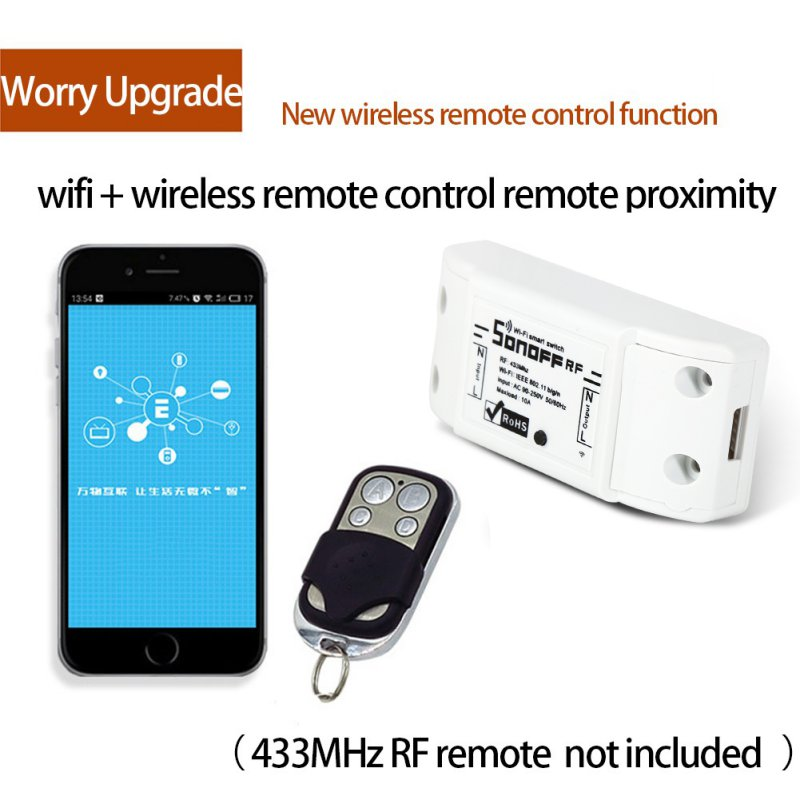 2017 New Switches Smart Home Remote Control Wireless Switch Universal Module Timer Wifi Switch Smart Home Controller new 1transmitter &4receiver module wireless remote control encoding module system momentery latched rf remote control switches