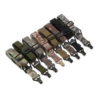 Multi Mission 2 Point Tactical Rifle Sling Military Wargame Paintball Hunting Adjustable Gun Sling Strap Survival
