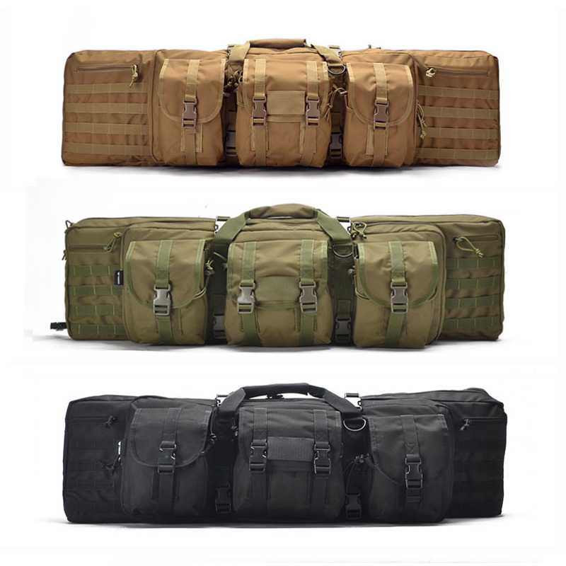 Outdoor Tactical Bag Army Military Hunting Paintball Shooting Gun Case Rifle Protection Backpack Hiking Camping Travel