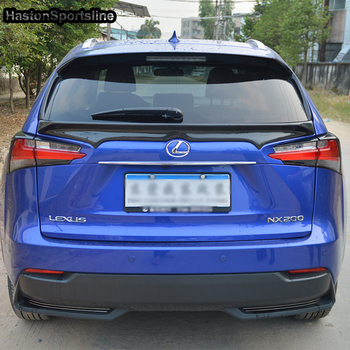 NX NX caso De Fibra De Carbono da Asa Traseira Tronco Spoiler Para Lexus 2014 ~ 2017