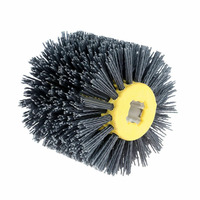 Cleaning Abrasive Wire 120*100*19mm Abrasive Wheel Wire Brush Sander Wooden Furniture Surface Polishing