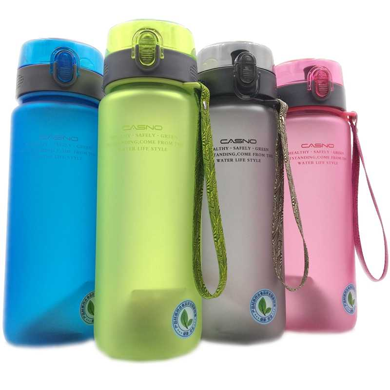 560ml/850ml High Quality Portable Water Bottle With Rope Leak-Proof Durable Drinkware Outdoor Sports Bottles BPA Free