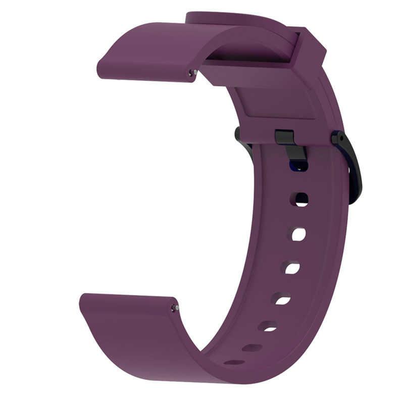 9 Warna Pita Silikon untuk Amazfit Bip Ganti untuk Xiaomi Huami Amazfit Band Gelang untuk Huami Amazfit Bip Bit Pergelangan Tangan tali 20 Mm
