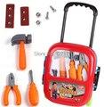Los niños Carro de Juguete Herramientas de Reparación Set Juguetes/juguete tocador para las niñas/juguete kit médico conjunto opcional