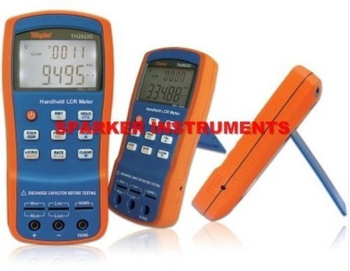 NEW TongHui TH2822C Portable Handheld LCR Meter 100-100KHz Mini-USB