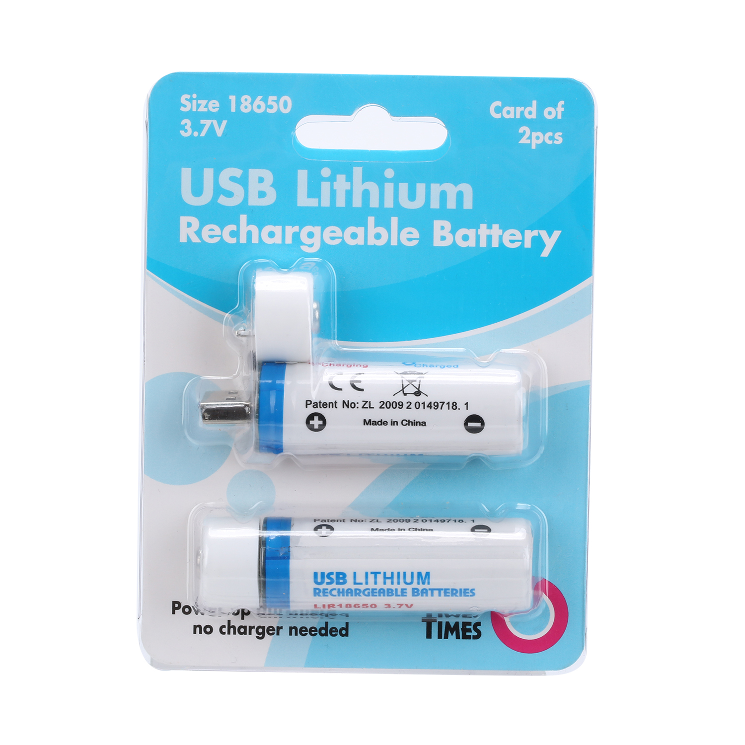 Fast Charging <font><b>18650</b></font> 3.7v 1400mah Rechargeable USB Lithium Li-ion Battery Universal For Glare Flashlight Remote Control <font><b>Mouse</b></font> image