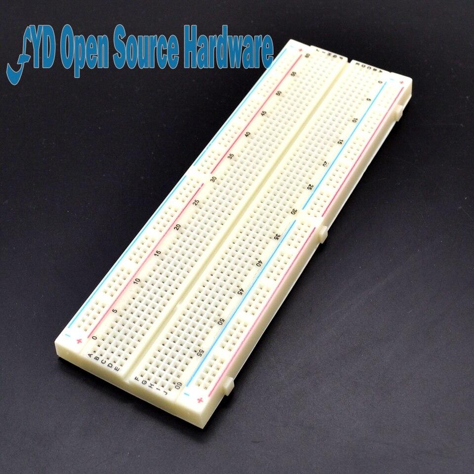 1pcs Breadboard 830 Point Solderless PCB Bread Board MB-102 MB102 Test Develop DIY1pcs Breadboard 830 Point Solderless PCB Bread Board MB-102 MB102 Test Develop DIY