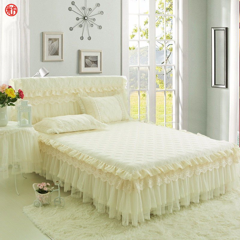 Buy quilted bed skirt and get free shipping on AliExpress.com : white quilted bed skirt - Adamdwight.com