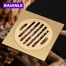 Nice quality 10*10cm Bathroom Square Drain Special Floor Drain For Washing Machine stainless steel rectangular floor drain washing machine chrome dedicated outdoor pool drain