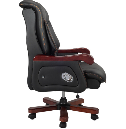 Купить с кэшбэком The boss computer chair can lay lifting fashion household high-grade belt massage chair Leather office of large chair