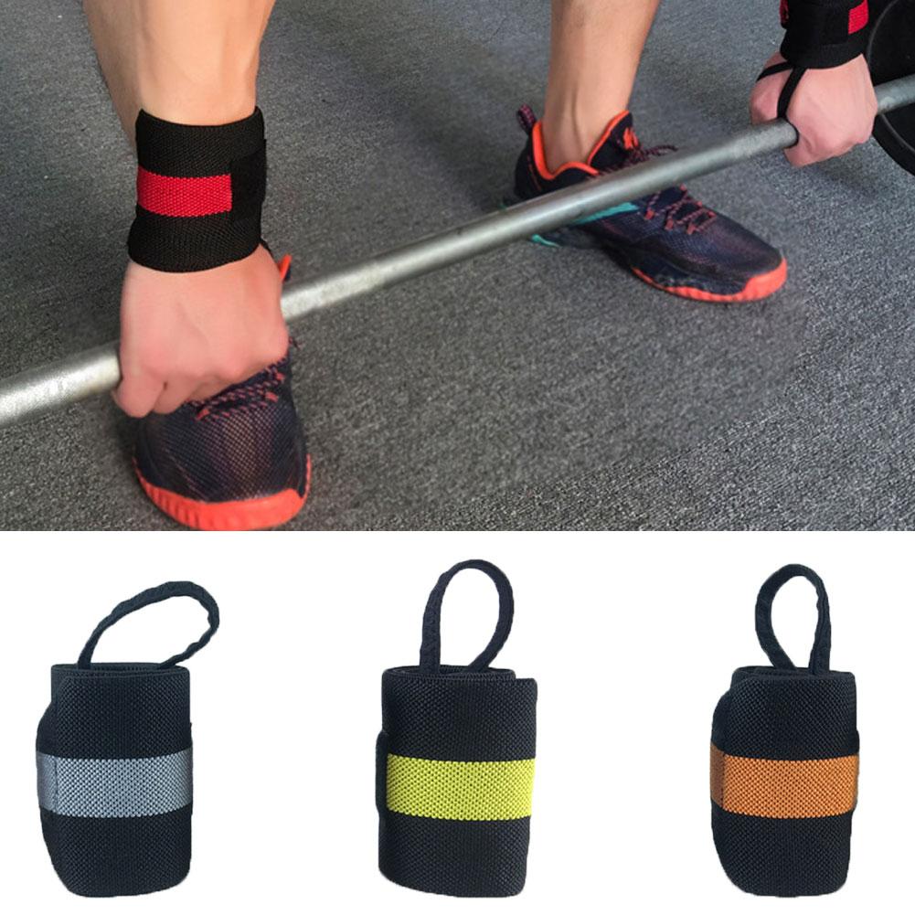 1 шт. вес для подъема кистевой ремень Фитнес Спорт бандаж регулируемая опора для запястья