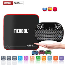 Mecool M8S PRO W Android  Box 2.4G Voice Control  S905W Android 7.1 OS 4k H.265 FullHD  IPTV Smart TV Box Android Set Top Box mecool m8s pro l 4k tv box android 7 1 smart tv box 3gb 16gb amlogic s912 cortex a53 cpu bluetooth 4 1 hs with voice control