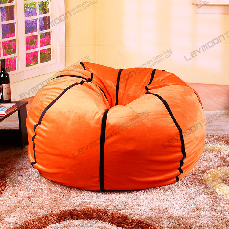 Free Shipping Bean Bag Ottoman Without Filling Football Bean Bag