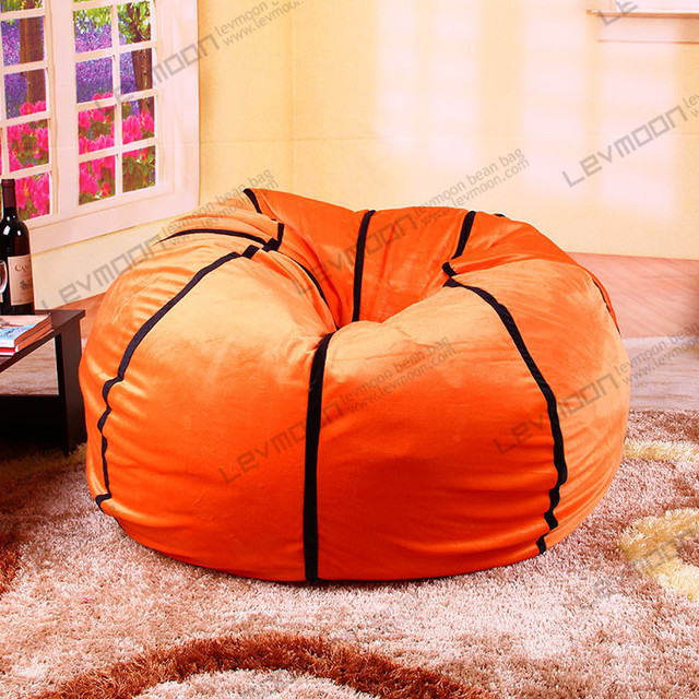 FREE SHIPPING Bean Bag Ottoman Without Filling Football Cover 92cm Diameter Diy