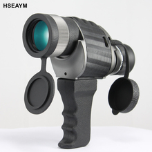 Cheapest prices HSEAYM 10X50 Telescope Monocular High Guality HD Wide-angle Portable Low Light Level Bird Watching Mirror Binoculars Hand Scope