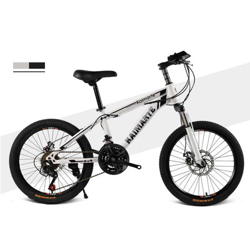 Детский велосипед 20 дюймов 21 скорость детский велосипед с переменной скоростью горный велосипед двухдисковый тормоз велосипед различные стили велосипед