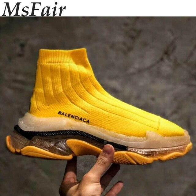 MSFAIR otoño zapatillas para hombres mujeres deportes malla transpirable caminar Zapatillas Hombre marca Athletic zapatillas de deporte para mujer