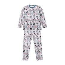 pudcoco Christmas Family Matching Star Wars Pyjamas Pajamas PJS Xmas  Sleepwear Nightwear boy girl christmas pajamas dd4dcff39