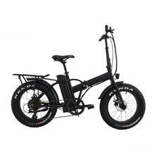 Прямая, США/Канада, высокоскоростной Электрический велосипед с толстыми шинами, 20 дюймов, складной электрический велосипед