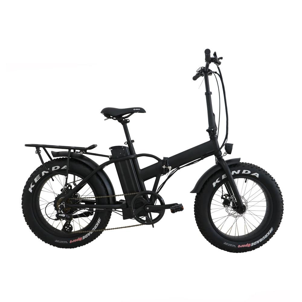 Drop shipping USA/CANADA High Speed Fat tire electric bike 20 inch folding electric bicycle