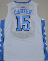 2016 Vince Carter 15 North Carolina Tar Heels Jersey Retro College Jersey Throwback Customize Any Name