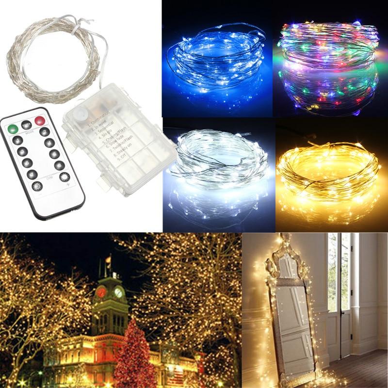 Brighton Fairy Lights Shop: Aliexpress.com : Buy Jiguoor 10M 100 LED Battery Operated