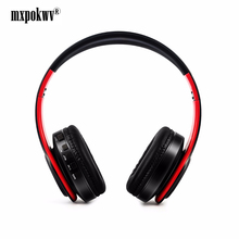 цены на MxPokwv Wireless Headphone Bluetooth Headset Foldable Headphone Adjustable Earphones With Microphone For PC mobile phone Mp3  в интернет-магазинах