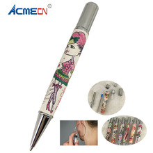 Unique Cool Pen Novelty Design PU Leather Ball Pen with Atomizer Perfume Ballpoint Pen Korea style Stationery Cute Gift for girl цена
