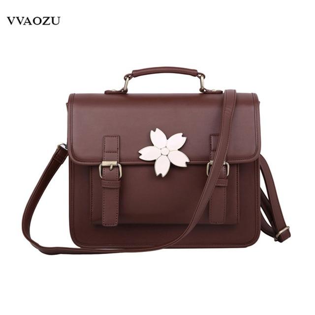 Free Shipping Anese Harajuku Style Fashion Women Hand Bags Handbags Pu Preppy Satchels Schoolbag