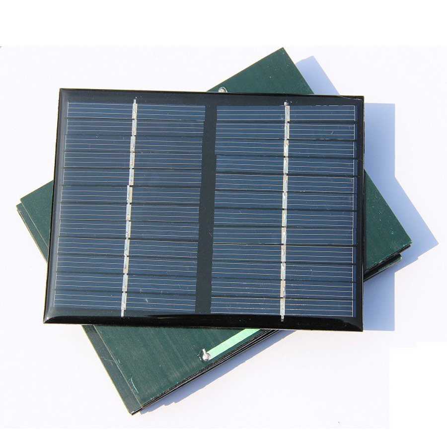 115*90mm 12V 125mA Solar Panel DIY Battery Portable Polycrystalline Silicon Sun Power Solar Cell