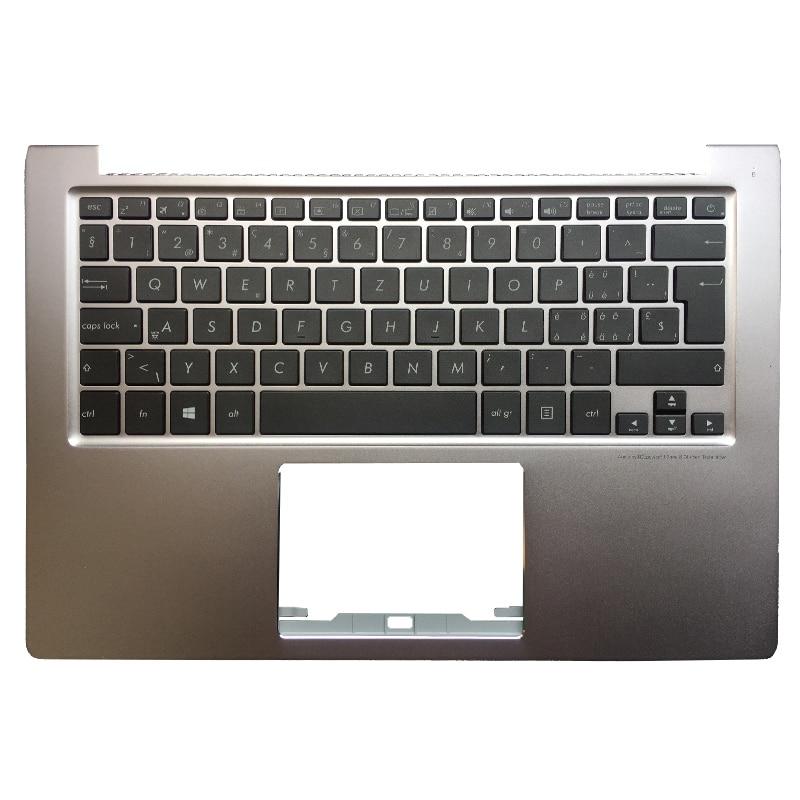 Switzerland backlit Laptop Keyboard For ASUS Zenbook U303 U303LB U303LN U303UA U303UB UX303L UX303 U303L UX303LN Palmrest Upper new for asus ux303 ux303ln u303l u303ln lcd back cover top cover palmrest upper case am16u000r0s am16u00160s am16u00110s