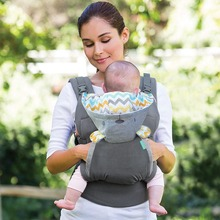6cc14bef0a1 Organic Cotton Baby Carrier 3 position Infant Carriers Sling Baby  Suspenders Classic Kids Backpack 18KGS. US  24.30