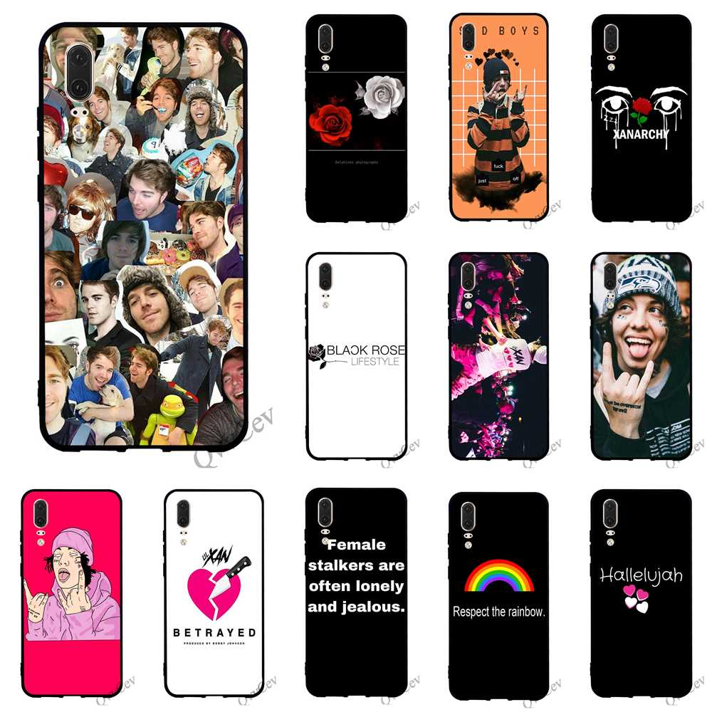 Colorful Betrayed Xanarchy Lil Xan Phone Cover For Huawei P20 Pro Case P10 P8 Lite P9 Mini P Smart Mate 10 20 Skin Skillful Manufacture Fitted Cases