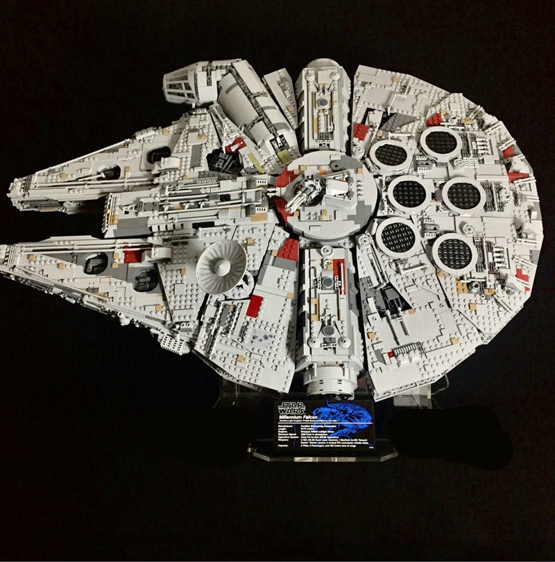 lepin 05132 lepin star wars ucs millennium falcon Ultimate Collector's Destroyer Wars compatible legoing STARWARS 75192